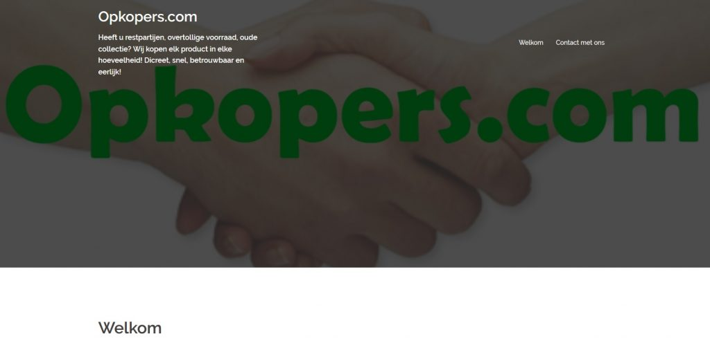 Website | Opkopers.com